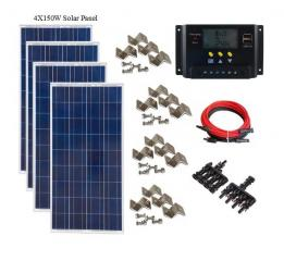 600W Off-Grid Kit