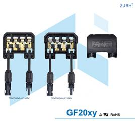 GF20xy Solar Panel Junction Box TUV UL Certificated For 250W 300W Panel